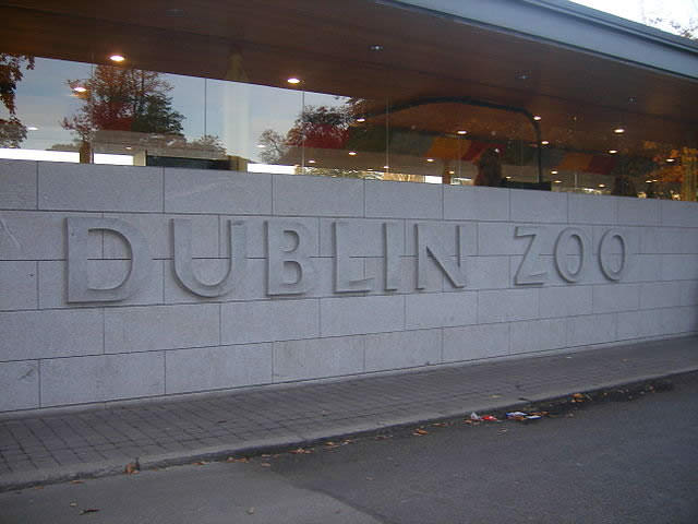 Dublin Zoo Entrance