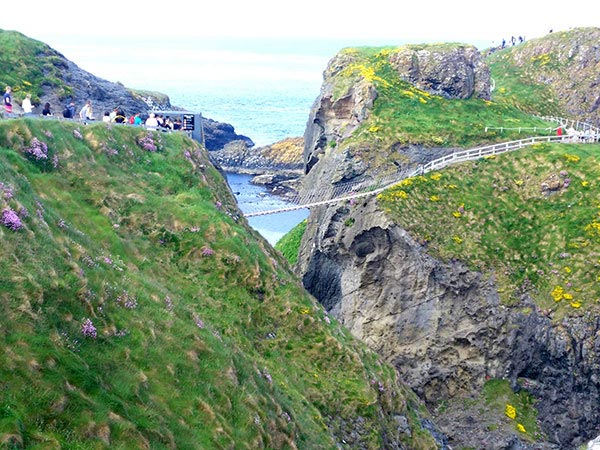 The Carrick a Rede bridge