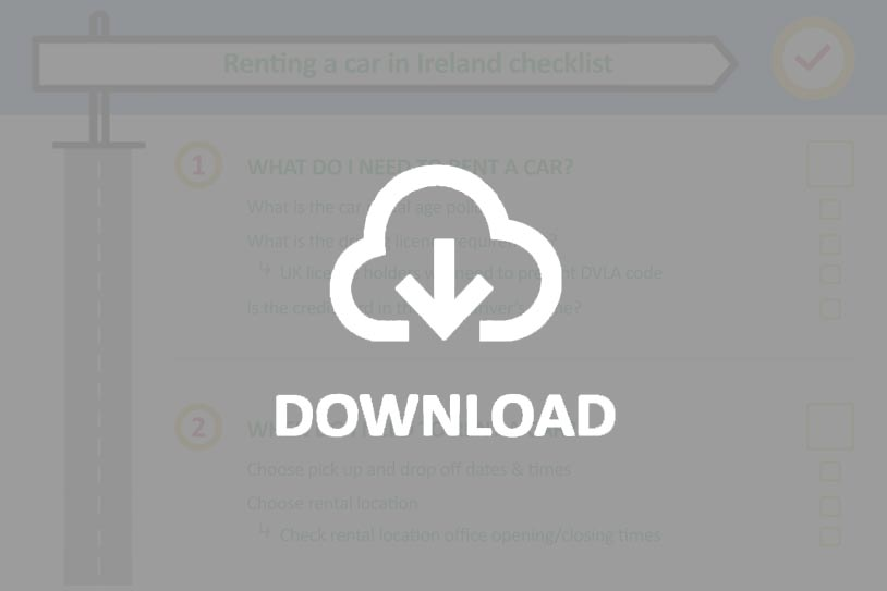 Download car rental checklist