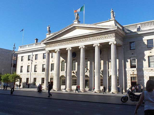 About the general post office dublin - Irish times office dublin ...
