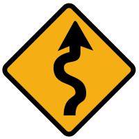 Dangerous bends ahead