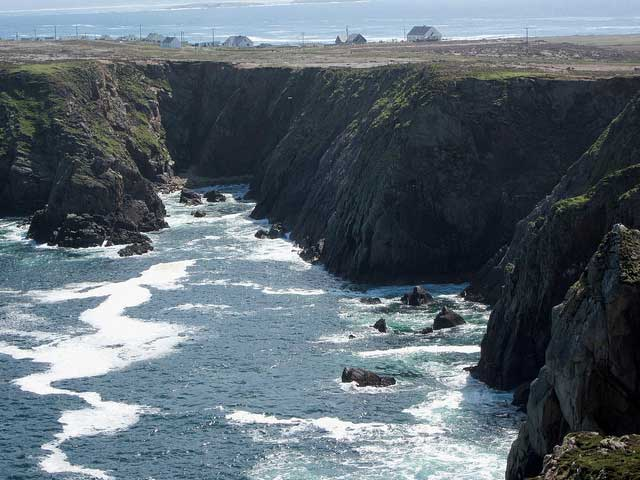 Tory Island view of clifftops