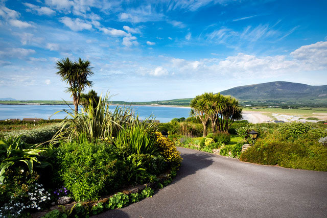 View across Ventry Bay